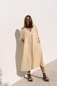 The Dress in Lemon