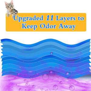 11 layers cat litter refills