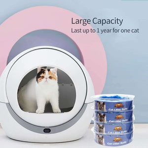 cat litter disposal system