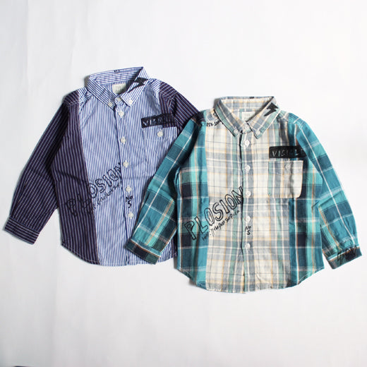 40%off WALLBOY SHIRTS シャツ 95cm-125cm (TPS-219)