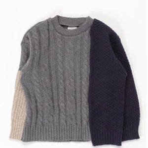 40%off 『last one!』ニット MIXBOY KNIT  115cm (TPS-239)