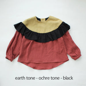 60%off 『last one!』フリルブラウス 5y shirt with frill(10.1 10.3)