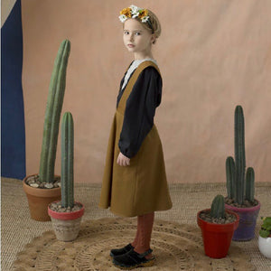 60%off ワンピース 2-3y.4y.5y pinafore dress