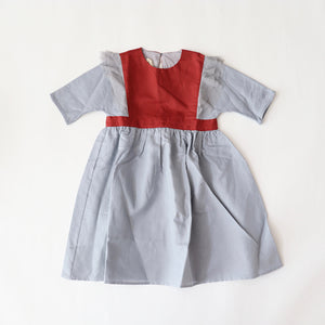 【more sale 50%off】 ワンピース 4y~7y Dress with elbow-length sleeve