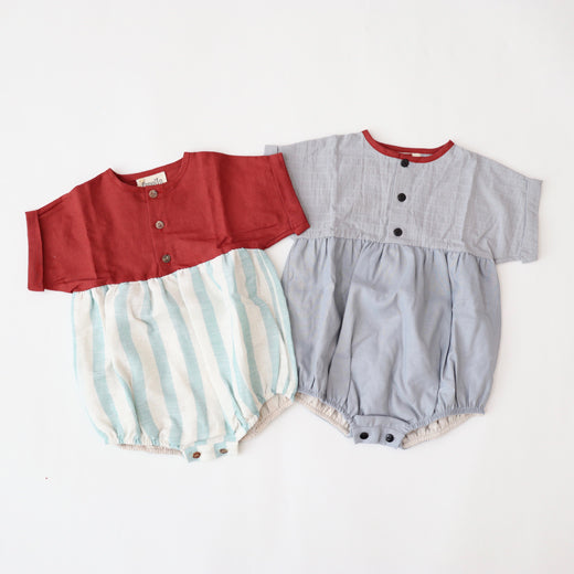40%OFF ロンパース 12-18m.18-24m short-sleeved romper suit