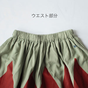 40%off スカート 2-3.4-5y Woven Skirt (1129)