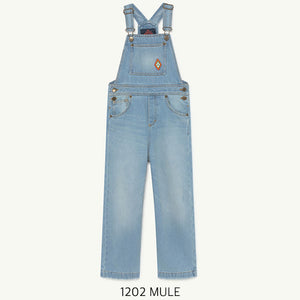 オーバーオール  6.8.10y MULE KIDS DUNGAREE(1202)