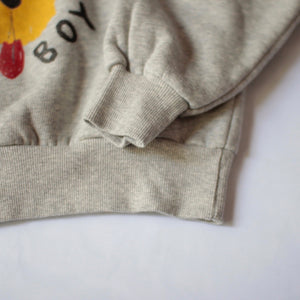 スウェット 6,8,10y BEAR GREY HEATHER KIDS+SWEATSHHIRT(1116)