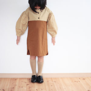60%off ワンピース 18-24m.2-3y.3-4y.4y.5y peter pan collar dress