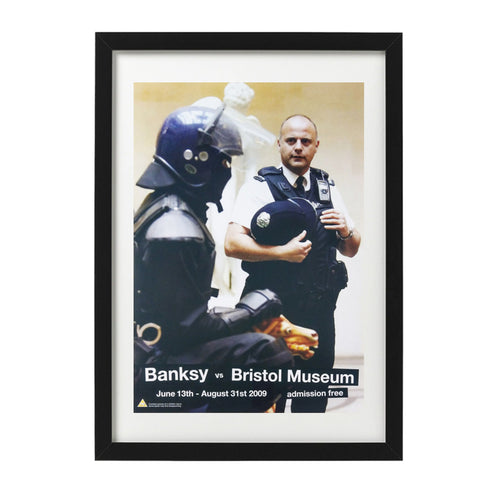 Banksy-coppers-bristol-museum-poster-Limn-Gallery-NZ