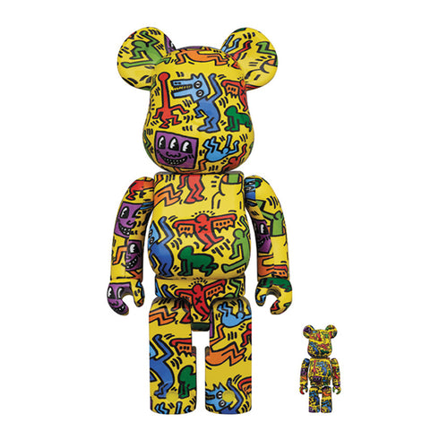 Bearbrick-Keith-Haring-5-2020-medicom-400-100-set-Limn-Gallery-nz
