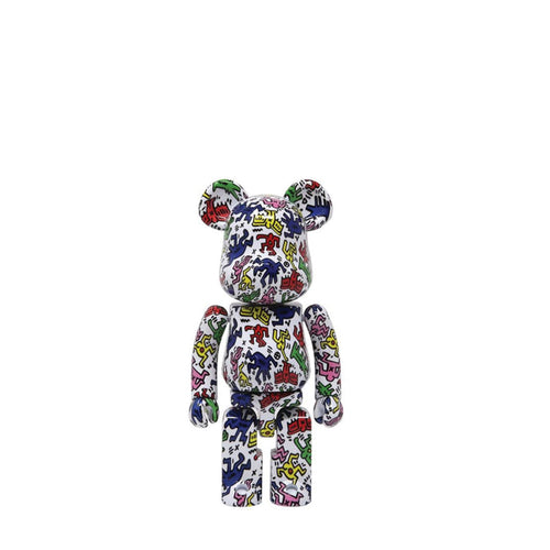 Bearbrick-keith-haring-1-super-metal-alloy-2019-medicom-200-Limn-Gallery-nz