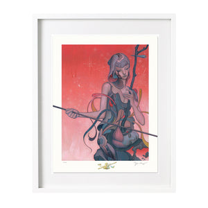 Erhu Limited Edition print James Jean Limn Gallery