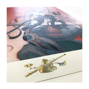 Erhu Limited Edition print James Jean Limn Gallery Close Up 4