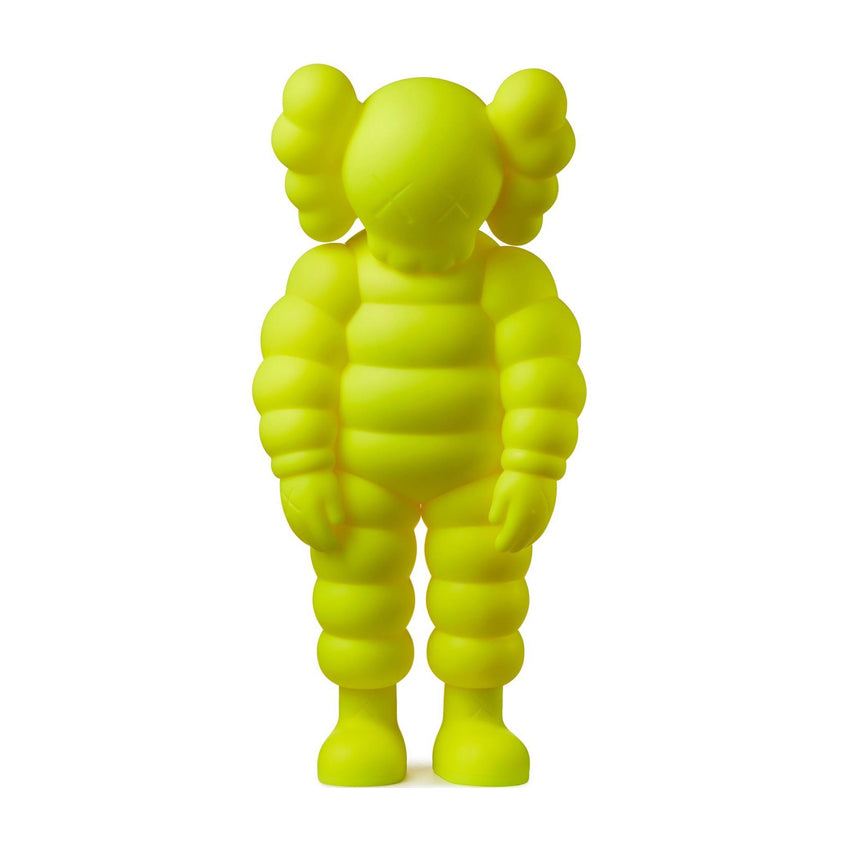 Kaws-What-Party-Yellow-2020-medicom-vinyl-Limn-Gallery-NZ