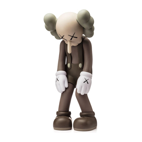 Small Lie brown companion 2017 medicom vinyl Kaws Limn Gallery