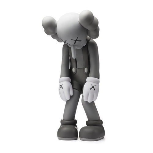 Small Lie grey companion 2017 medicom vinyl Kaws Limn Gallery
