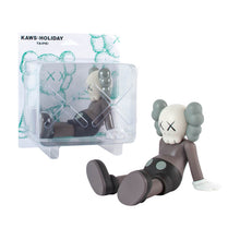 Load image into Gallery viewer, Taipei Holiday 2019 brown medicom vinyl Kaws Limn Gallery