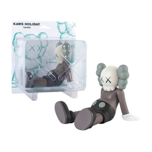 Taipei Holiday 2019 brown medicom vinyl Kaws Limn Gallery
