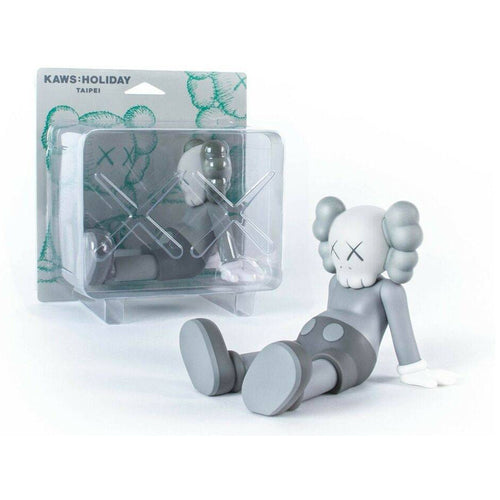 Taipei Holiday 2019 grey medicom vinyl Kaws Limn Gallery