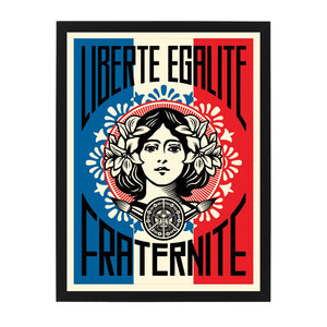 liberte open edition signed print OBEY Shepard Fairey Limn Gallery