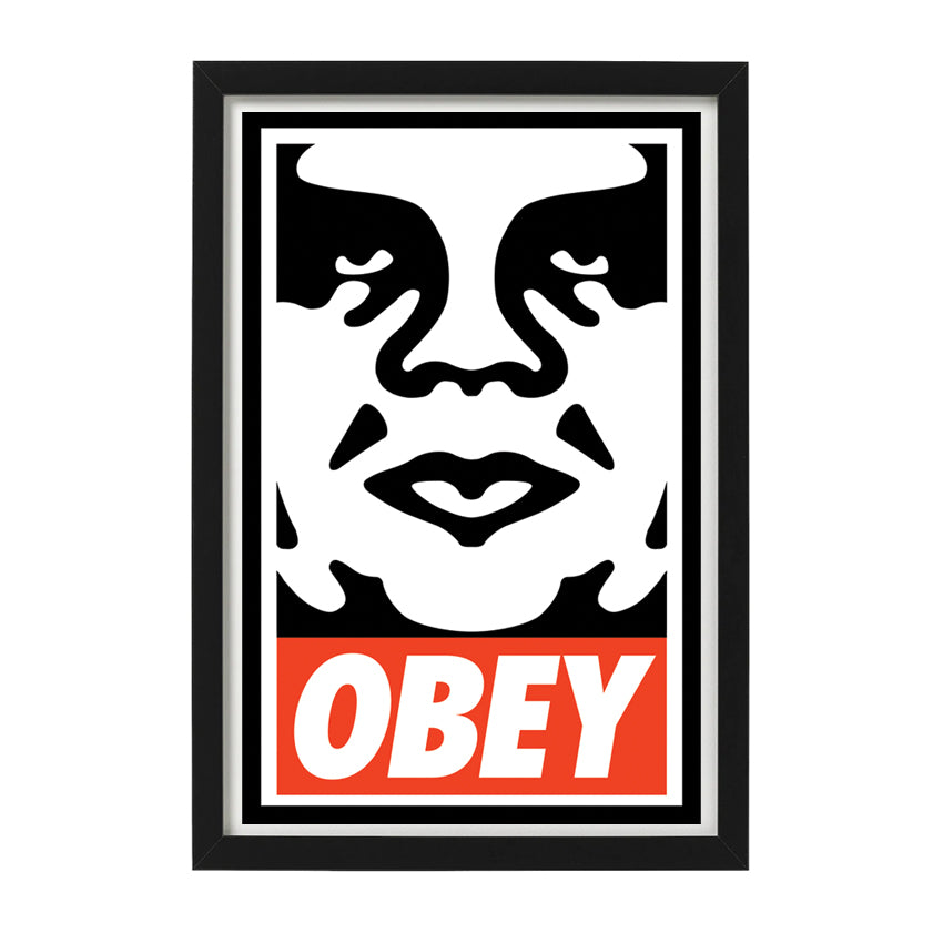 obey icon andre the giant open edition signed print OBEY Shepard Fairey Limn Gallery