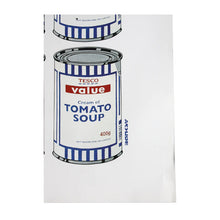 Load image into Gallery viewer, tesco tomato soup POW print Banksy Limn Gallery close up