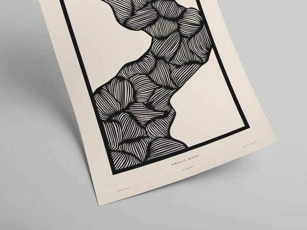 Amalie - Aboutcuts art print No. 06