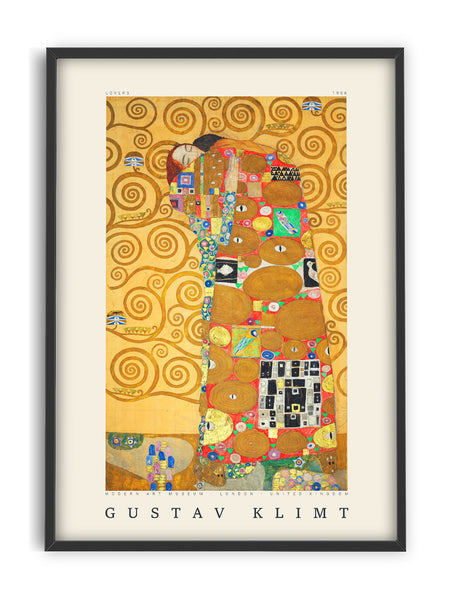 Gustav Klimt - Lovers