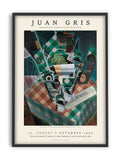 Juan Gris - Checked Tablecloth