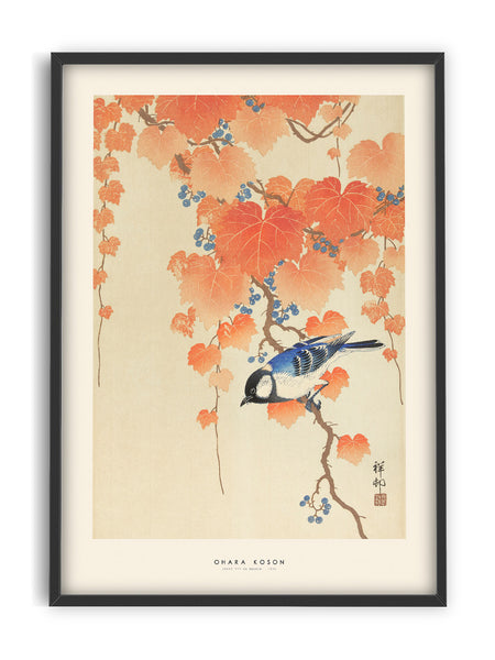 Ohara Koson - bird on branch