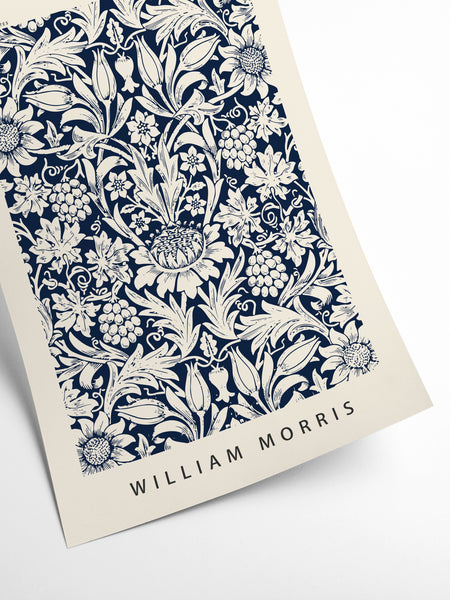 William Morris - Tulipes et Feuilles