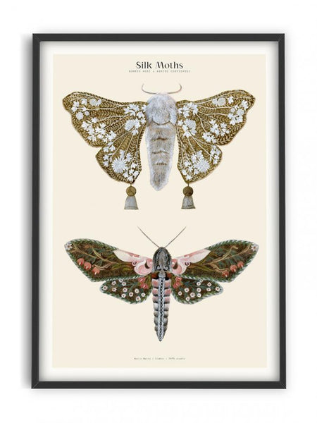 Matos - W. Morris inspired - Silk Moths No.1