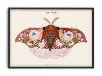 Matos - W. Morris inspired - Silk Moths No.6
