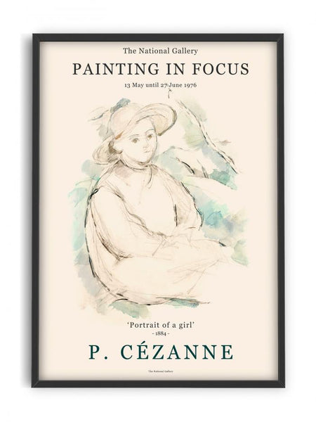 Paul Cézanne - Portrait