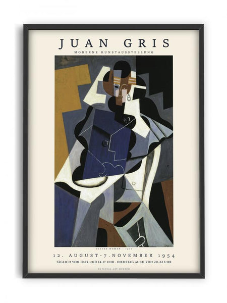 Juan Gris - Seated woman