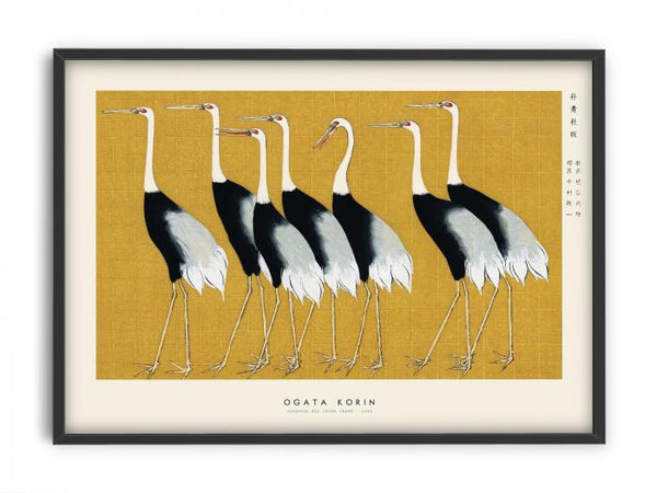 Ogata Korin - Japanese red crown crane
