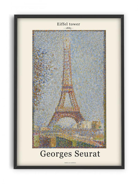 Georges Seurat - Eifel tower