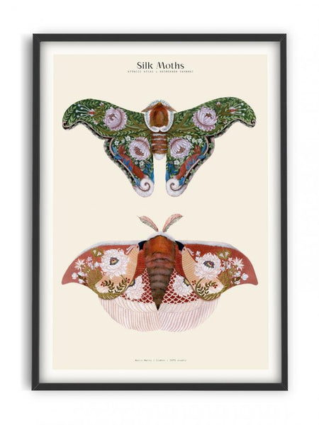 Matos - W. Morris inspired - Silk Moths No.2