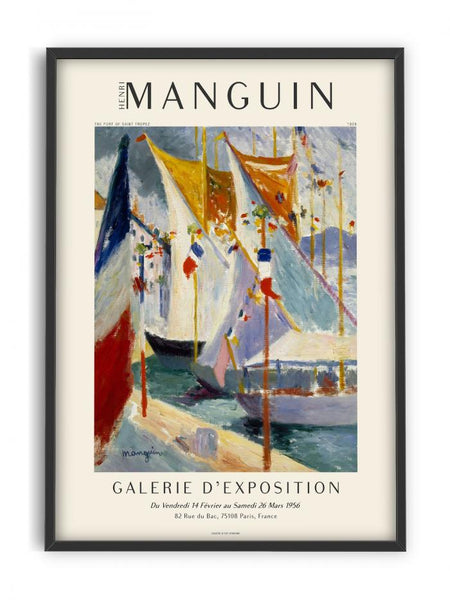 Henri Manguin - the port of saint tropez