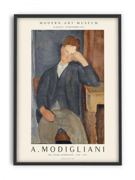 Modigliani -  Young Apprentice