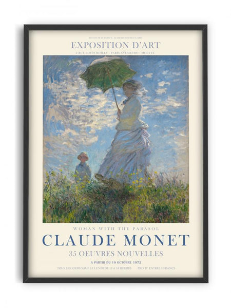 Claude Monet - Woman with parasol II