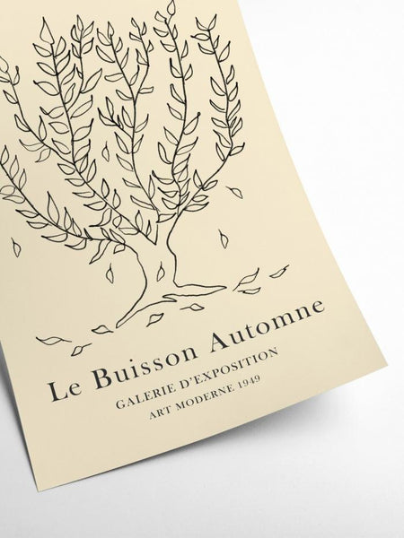 Henri Matisse inspired  - Le Buisson Automne