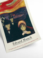 Evard Munch - Anxiety exhibition