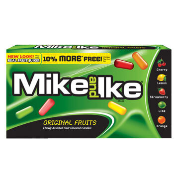 Mike and Ike Original Fruit Candy