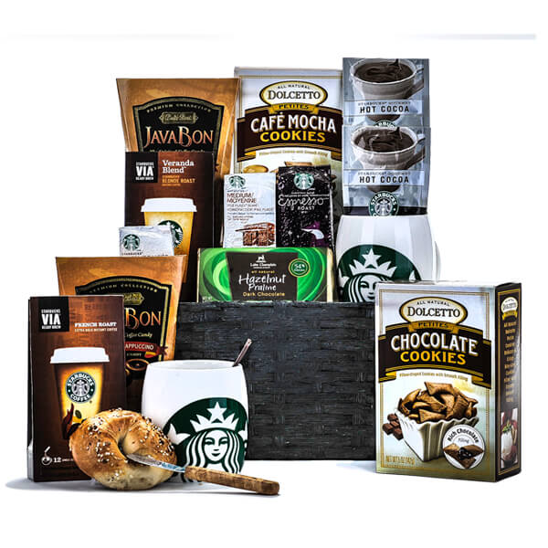 Take a Moment with Starbucks - GiftBasket.com - Gift Basket