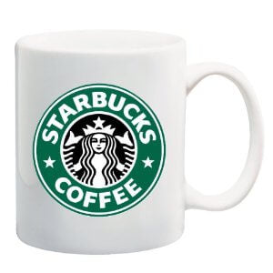 STARBUCKS Logo Mug Coffee Cup