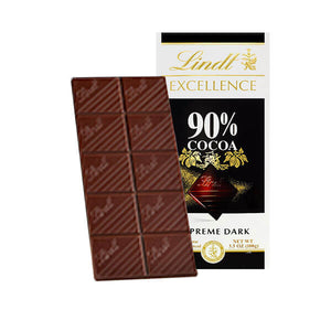 Lindt Excellence 90% Cocoa Bar 3.5 oz