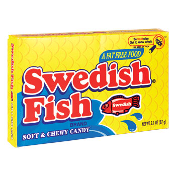 Swedish Fish Chewy Candy - GiftBasket.com
