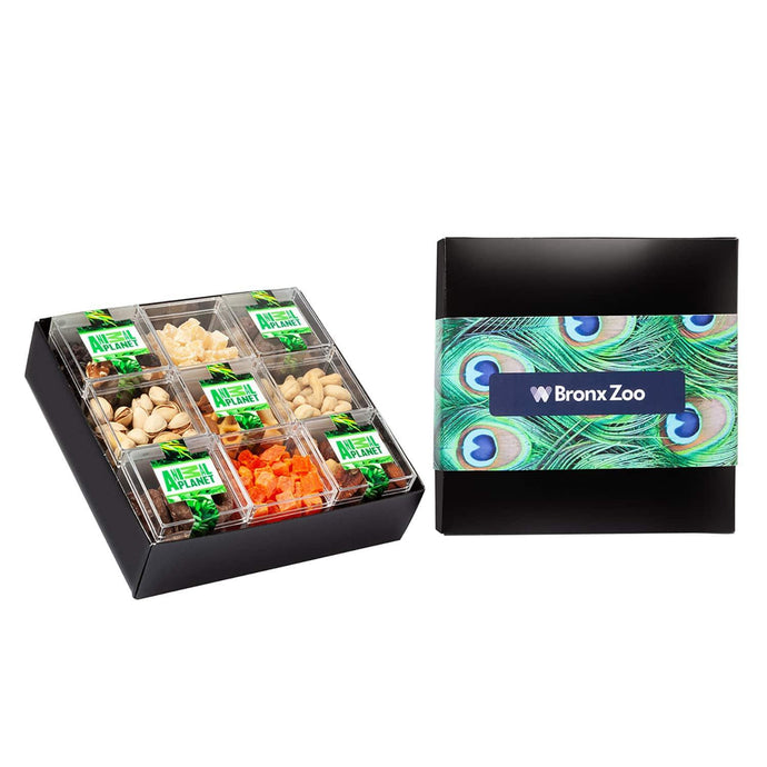 9 Piece Sweet Box Set - Fruit & Nut Mix - GiftBasket.com - Promotional